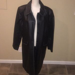 Bagatelle Leather trench